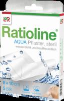RATIOLINE aqua Duschpflaster Plus 8x10 cm steril