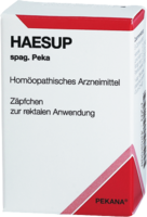 HAESUP spag.Peka Suppositorien
