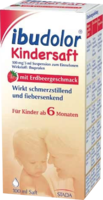 IBUDOLOR Kindersaft 100 mg/5 ml Suspension z.Einn.