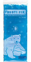 KALT-WARM Kompresse FrostiFix 12x29 cm blau Vlies