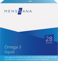OMEGA-3 liquid MensSana Sticks